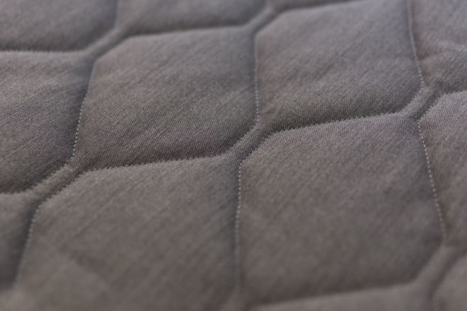 Quilting rhombus pattern