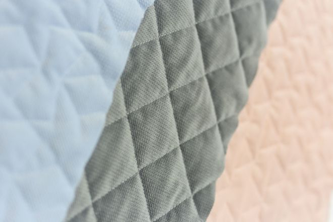 Quilting set of three fabrics