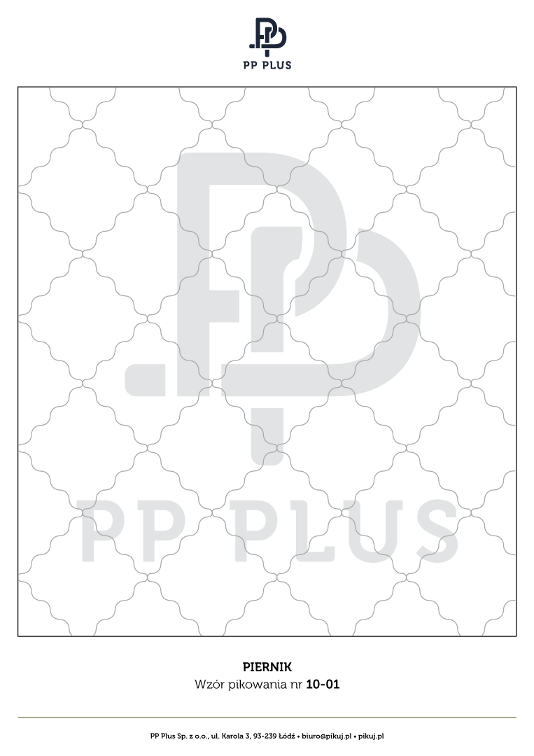 Wzór pikowania - Piernik