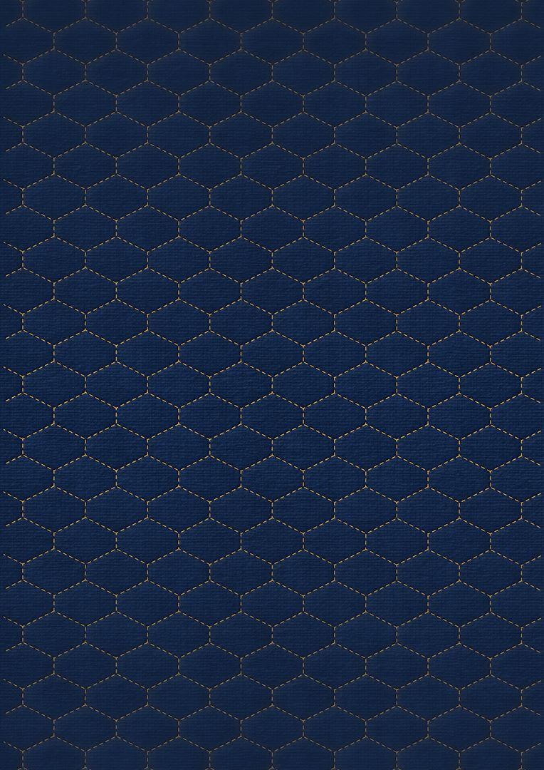 Wzór pikowania - Heksagon poziomo