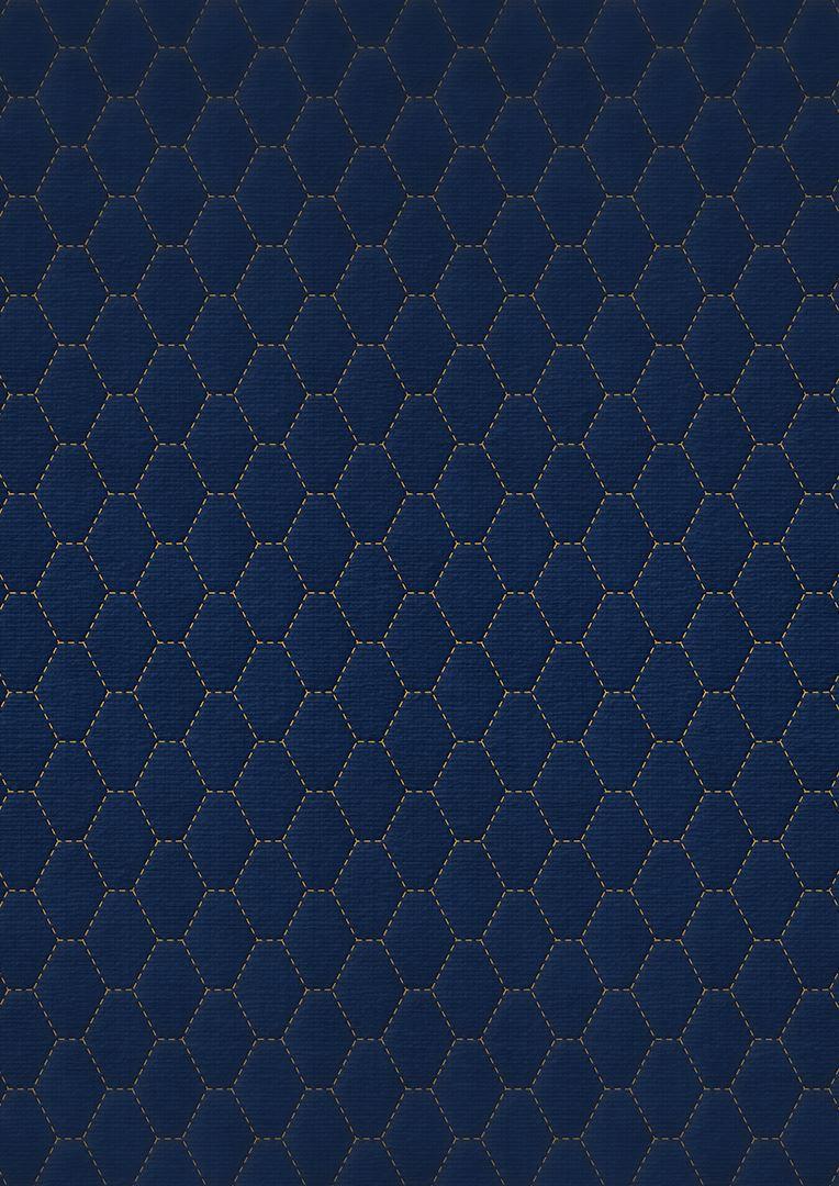 Wzór pikowania - Heksagon pionowo