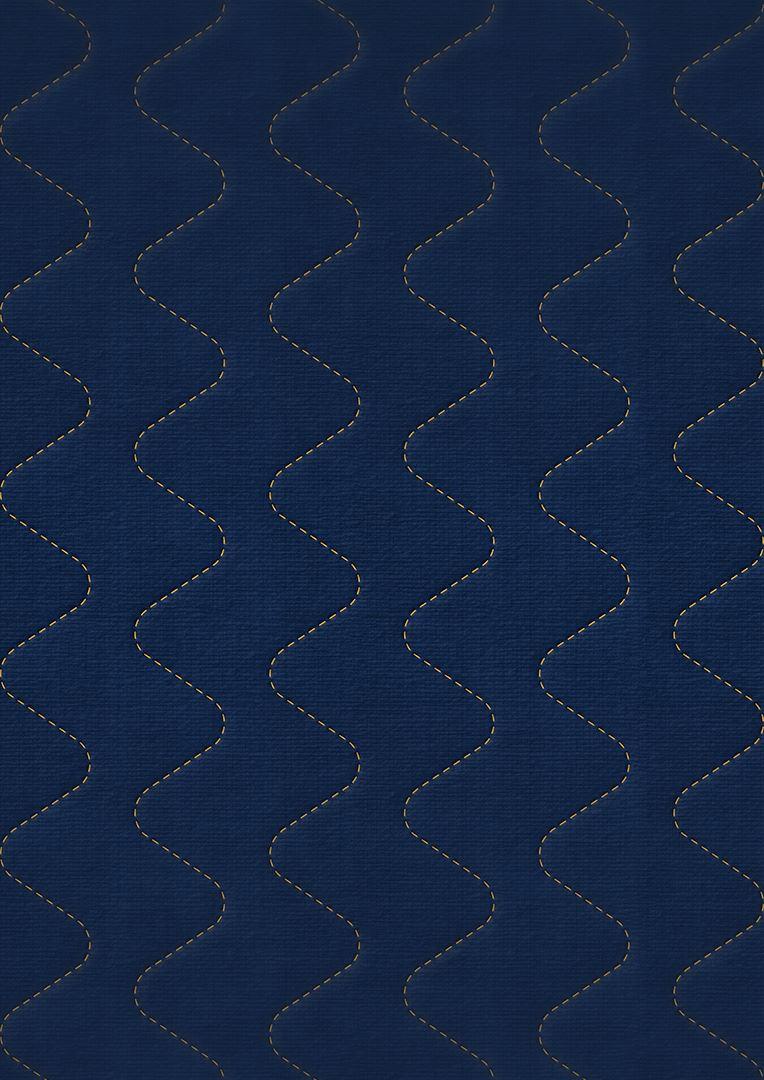 Wzór pikowania - Fala nieregularny zygzak co 7,5 cm