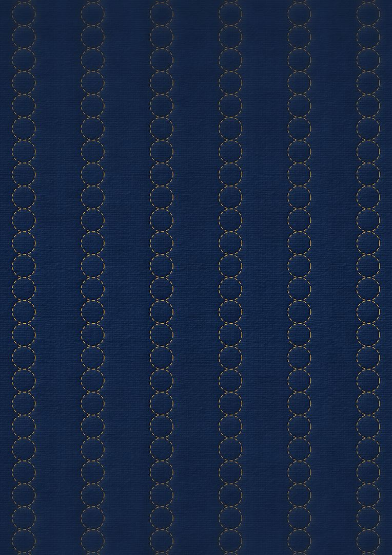 Wzór pikowania - Koła 2,5 cm co 7,5 cm